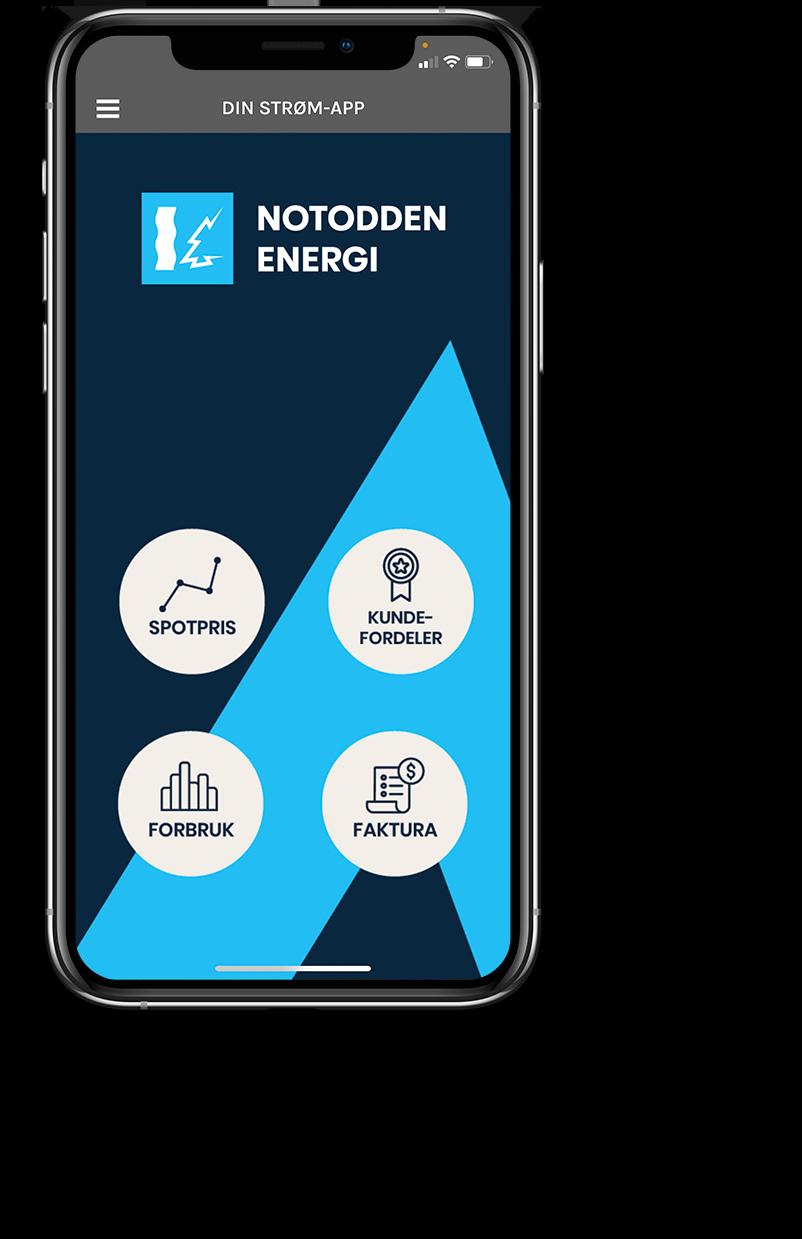 Din Strøm App Notodden Energi