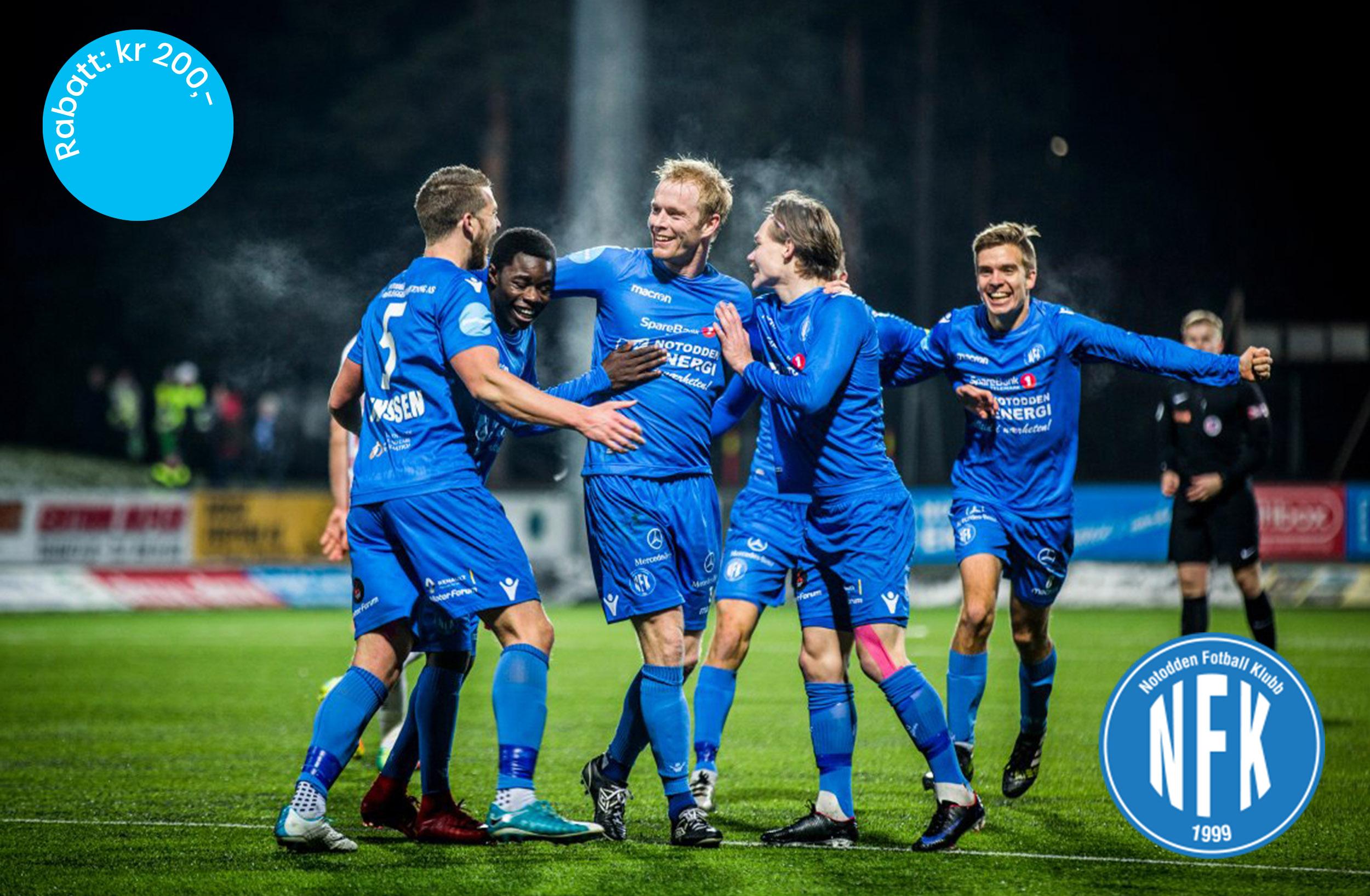 Kundefordeler Notodden Fotballklubb