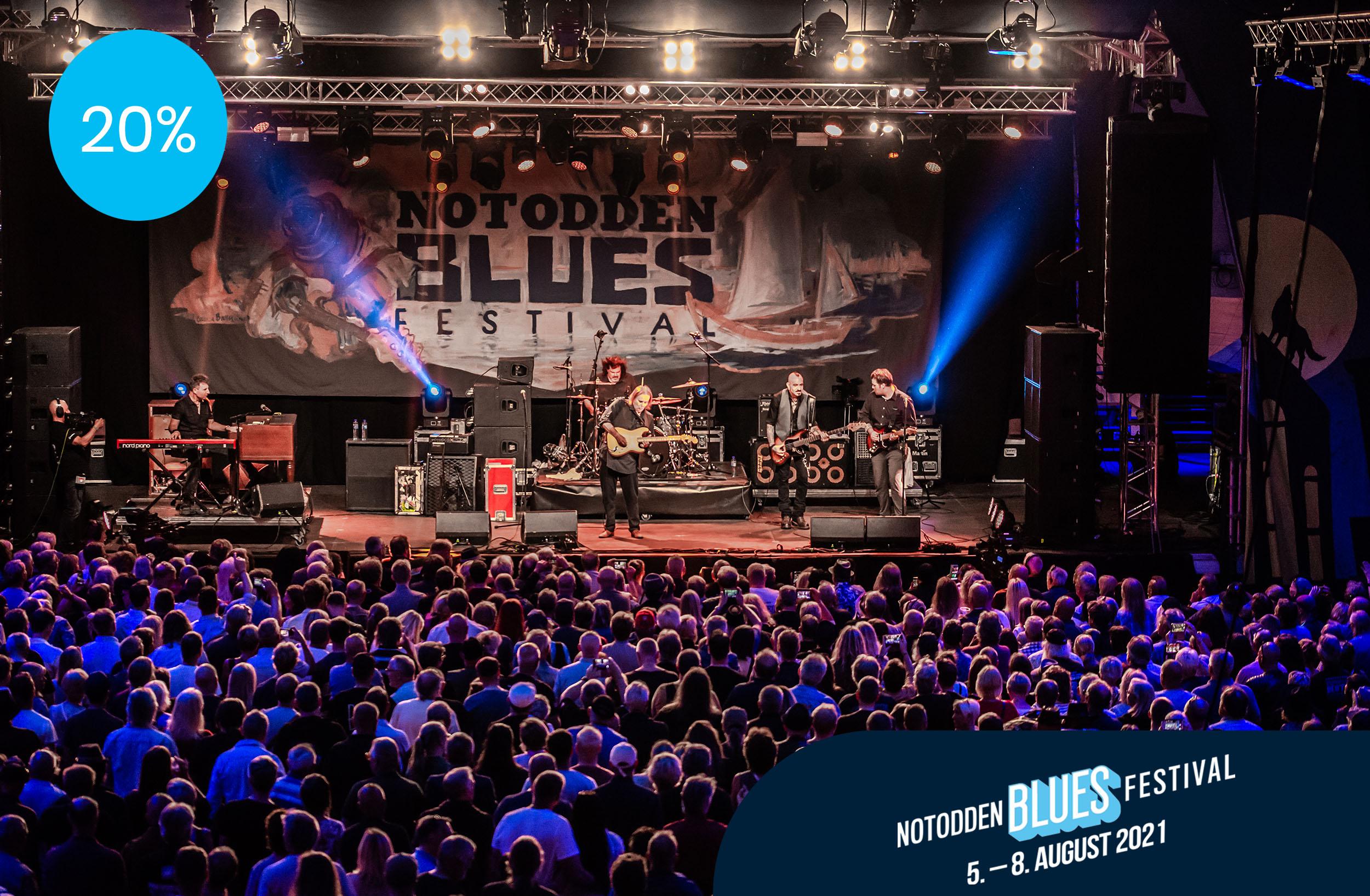 Kundefordeler Notodden Blues Festival