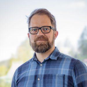 Fredrik Feyling, teknisk sjef i Notodden Energi