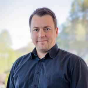 Thor Erik Haugen, leder kundeservice i Notodden Energi